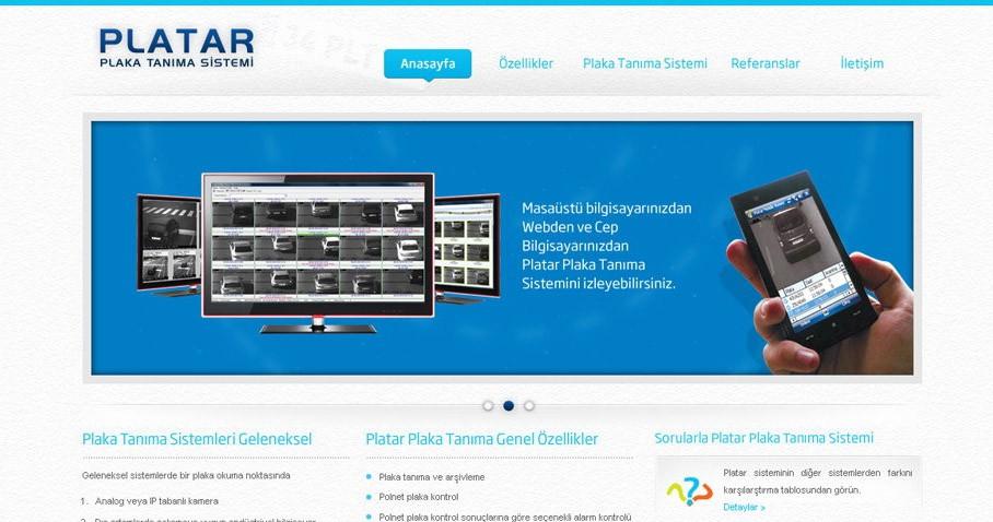 Platar Web Sitesi Tasarım ve Uygulamasını Tamamladık.