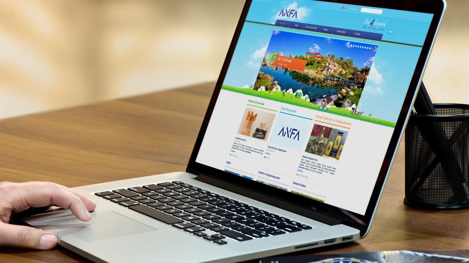 anfa web sitesi tasarımı 01