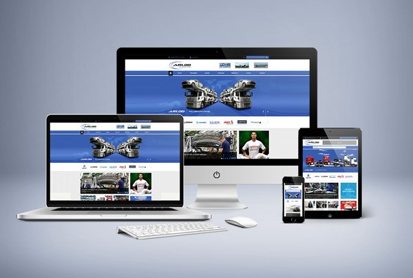 Arlod Responsive Web Sitesi Tasarımı