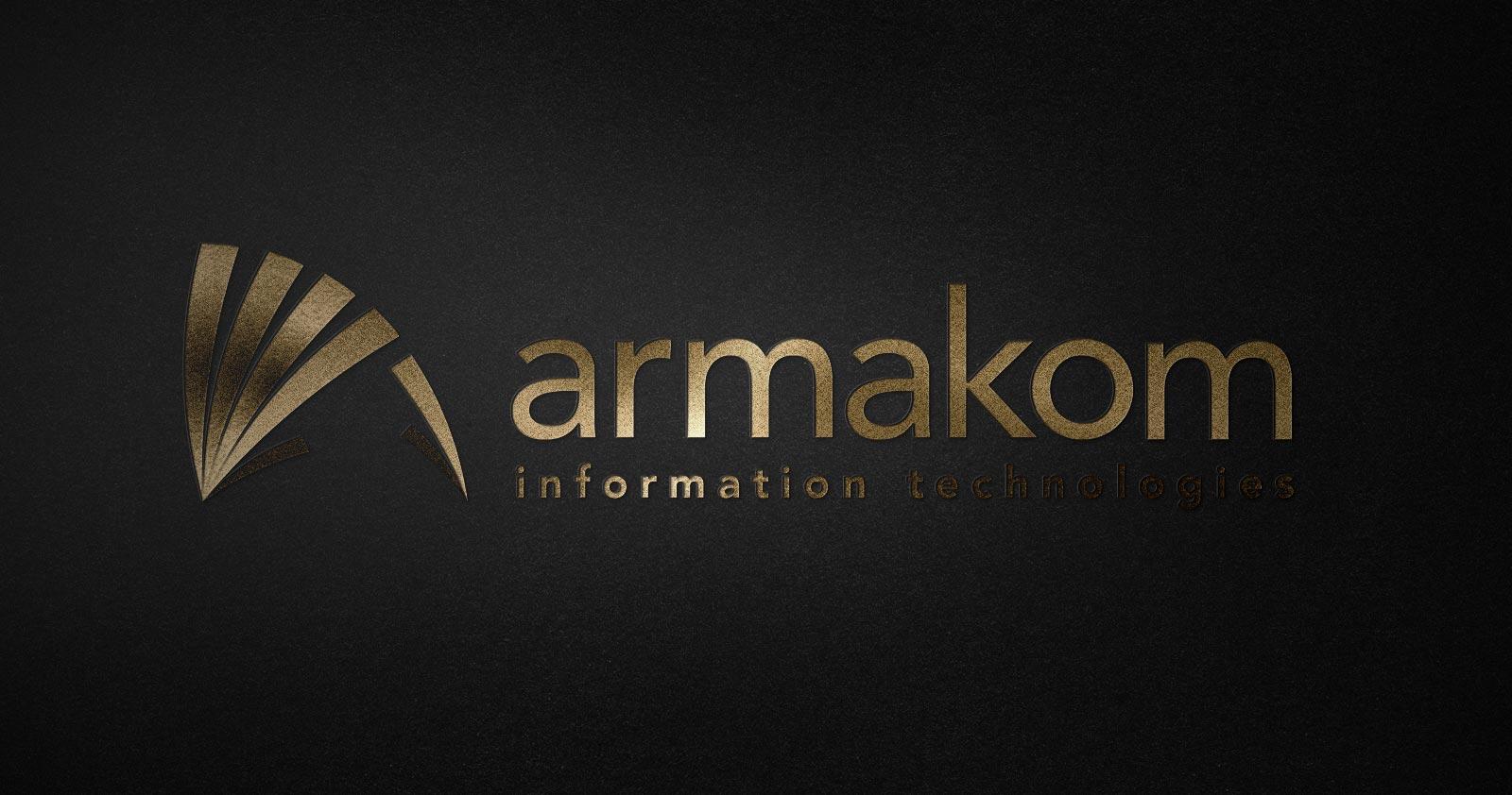 Armakom logo kurumsal kimlik tasarımı 01