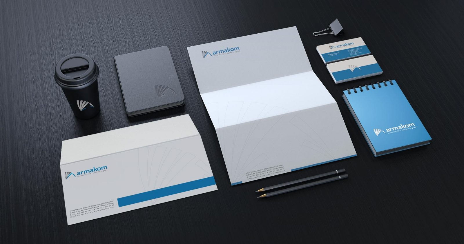 Armakom logo kurumsal kimlik tasarımı 05