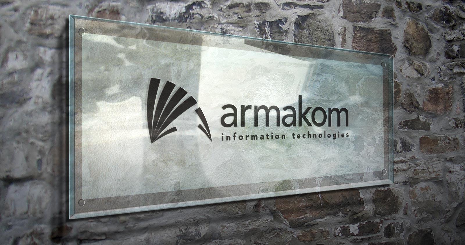 Armakom logo kurumsal kimlik tasarımı 06