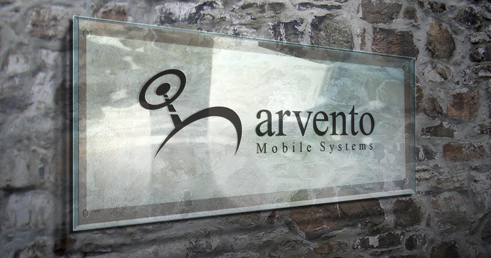 Arvento logo kurumsal kimlik tasarımı 06