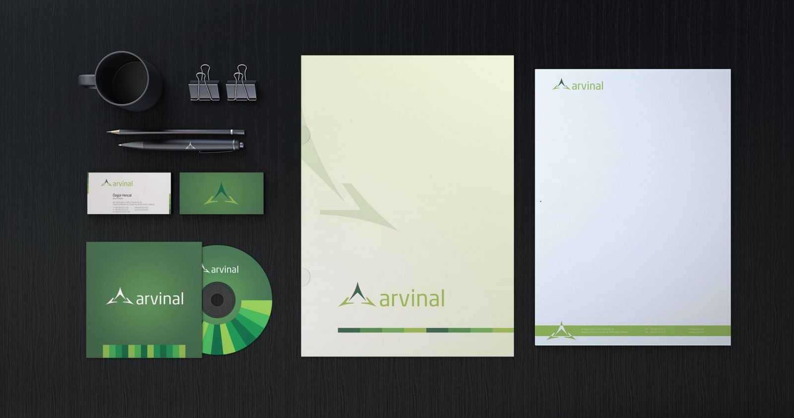 Arvinal logo kurumsal kimlik tasarımı 03