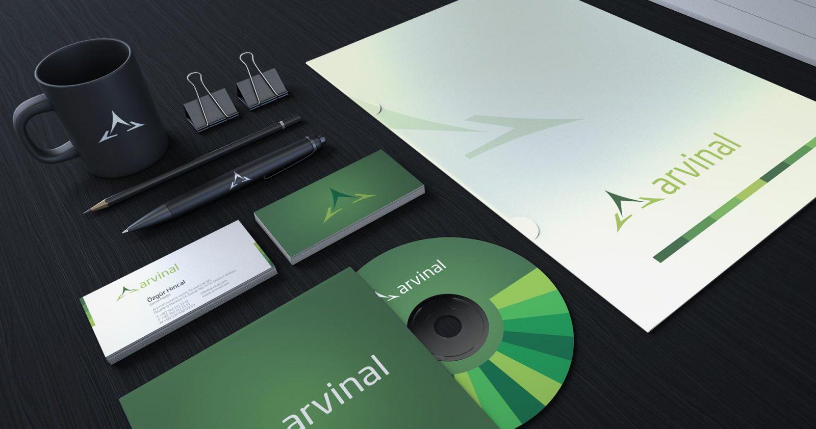 Arvinal logo kurumsal kimlik tasarımı 04