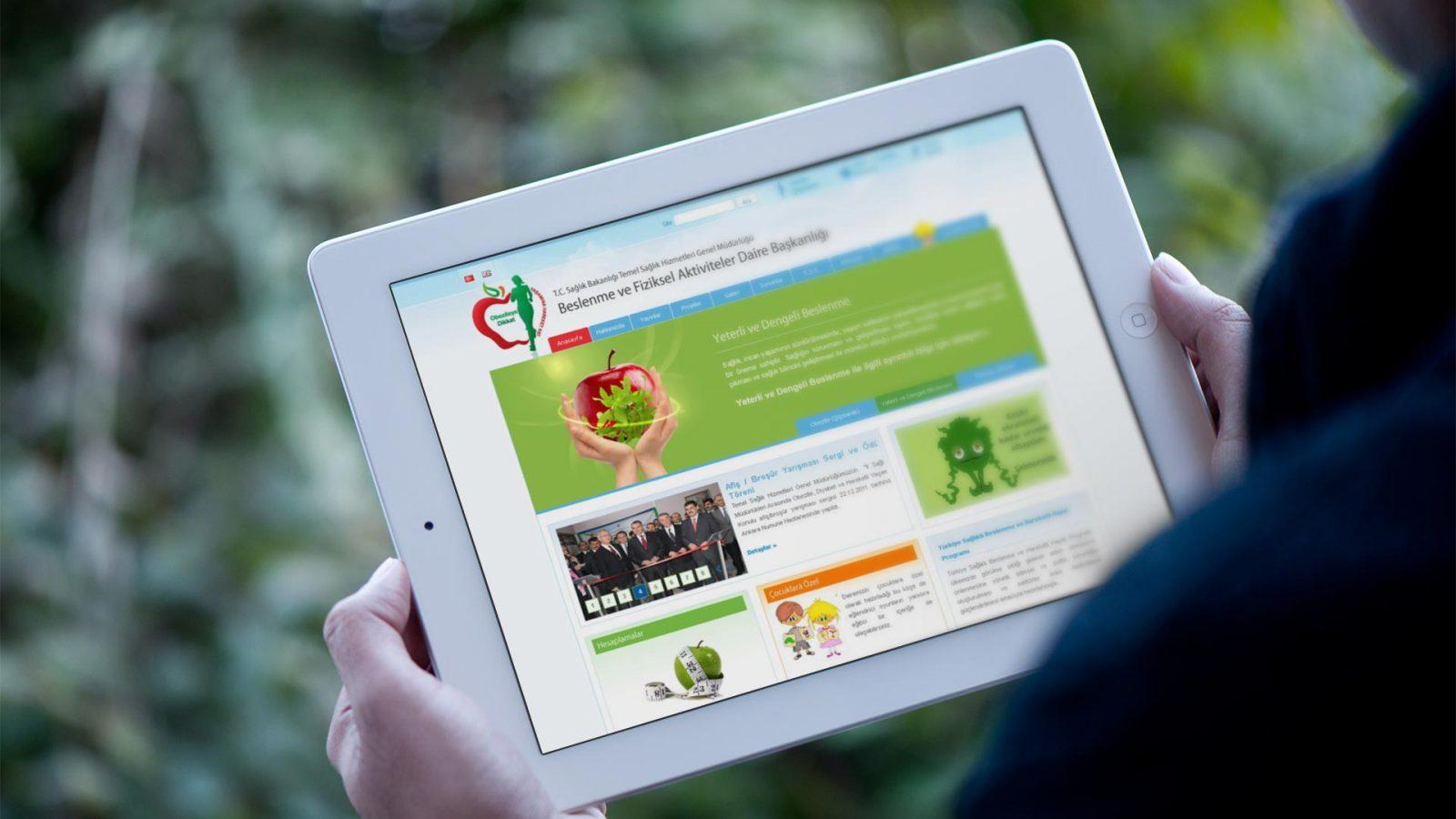 beslenme web sitesi tasarımı 02