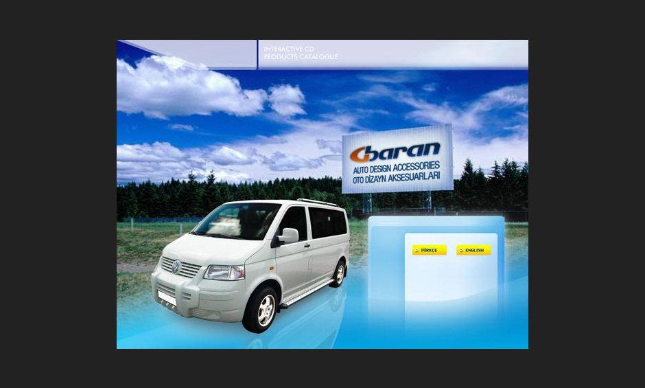 Group Baran 2005 Ürün ve Tanıtım Cd Tasarımı 1