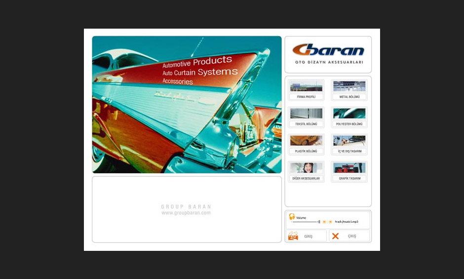 Group Baran 2005 Ürün ve Tanıtım Cd Tasarımı 3