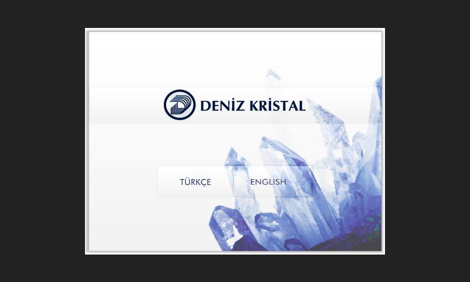 Deniz Kristal Ürün ve Tanıtım Cd Tasarımı 1
