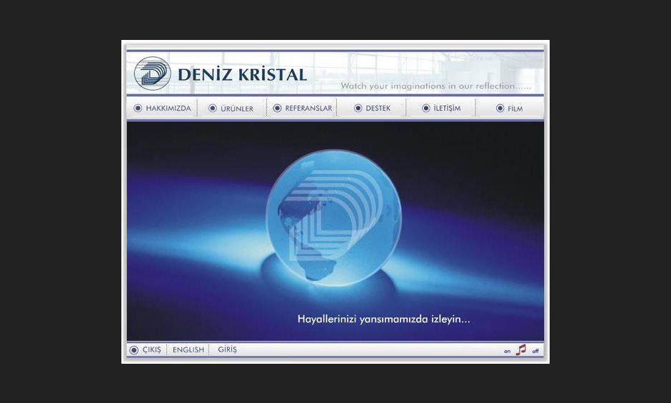 Deniz Kristal Ürün ve Tanıtım Cd Tasarımı 2