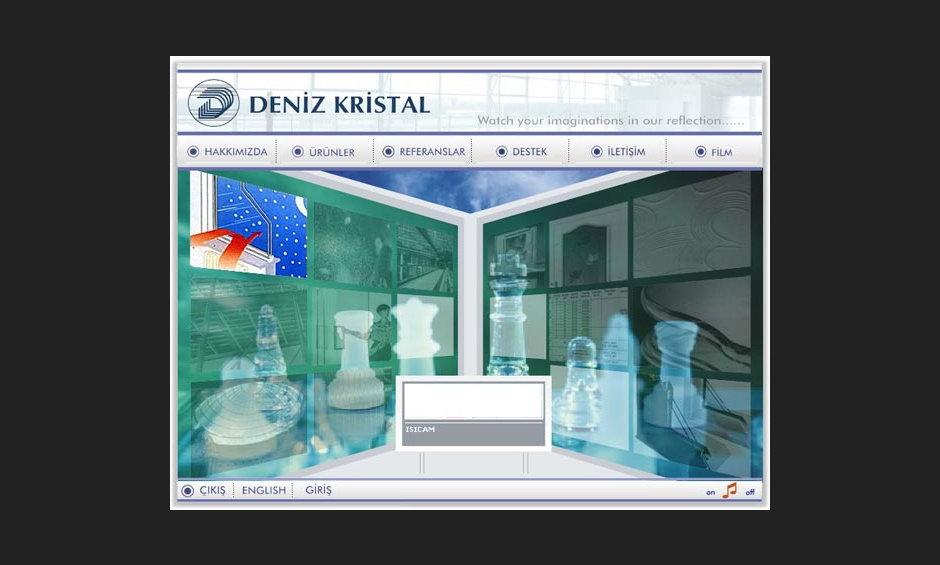 Deniz Kristal Ürün ve Tanıtım Cd Tasarımı 3