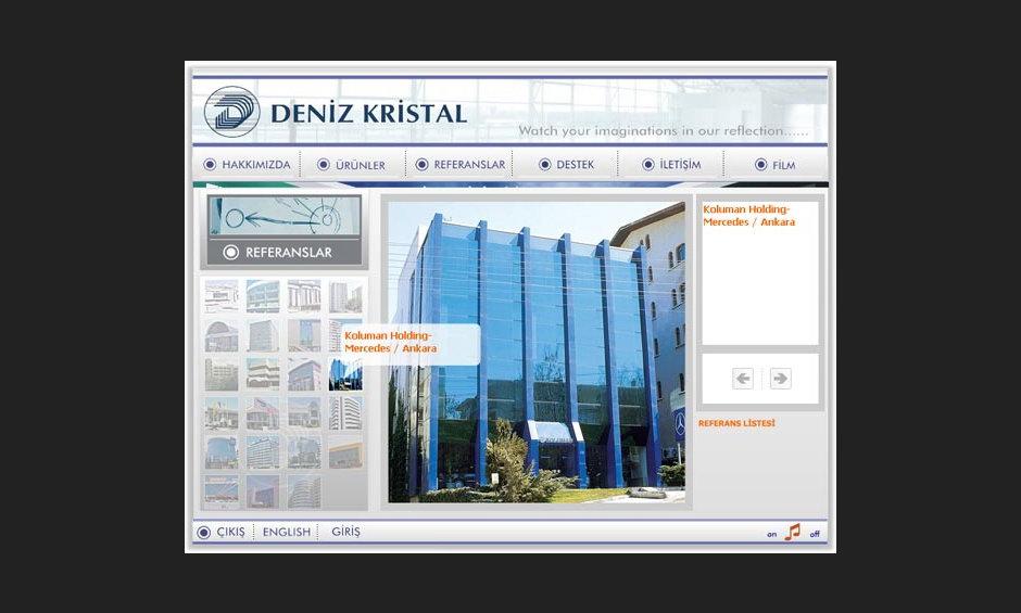 Deniz Kristal Ürün ve Tanıtım Cd Tasarımı 4
