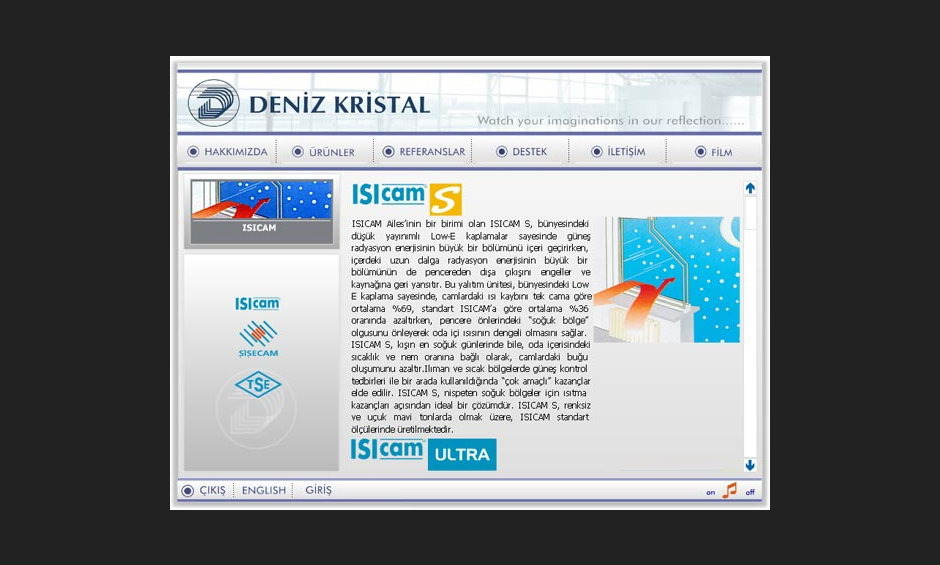 Deniz Kristal Ürün ve Tanıtım Cd Tasarımı 6