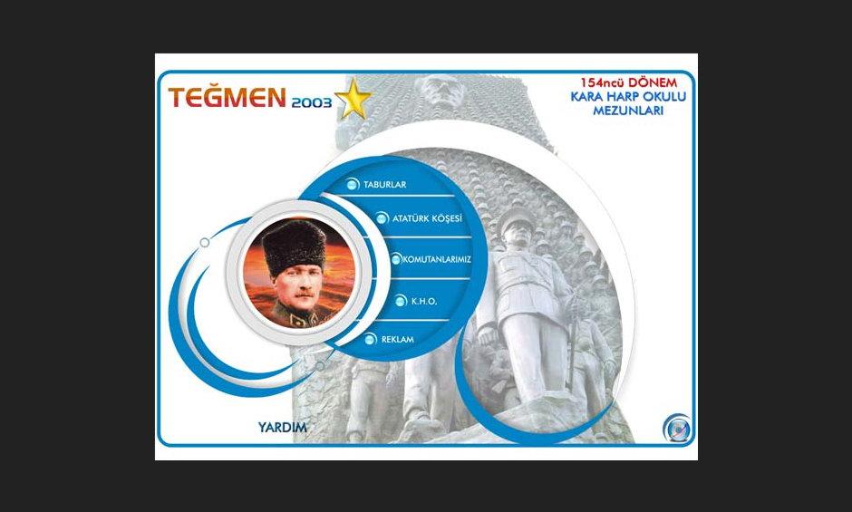 Teğmen 2003 Ürün ve Tanıtım CD Tasarımı