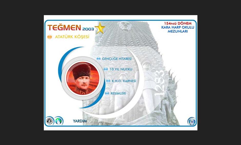 Teğmen 2003 Ürün ve Tanıtım CD Tasarımı 2