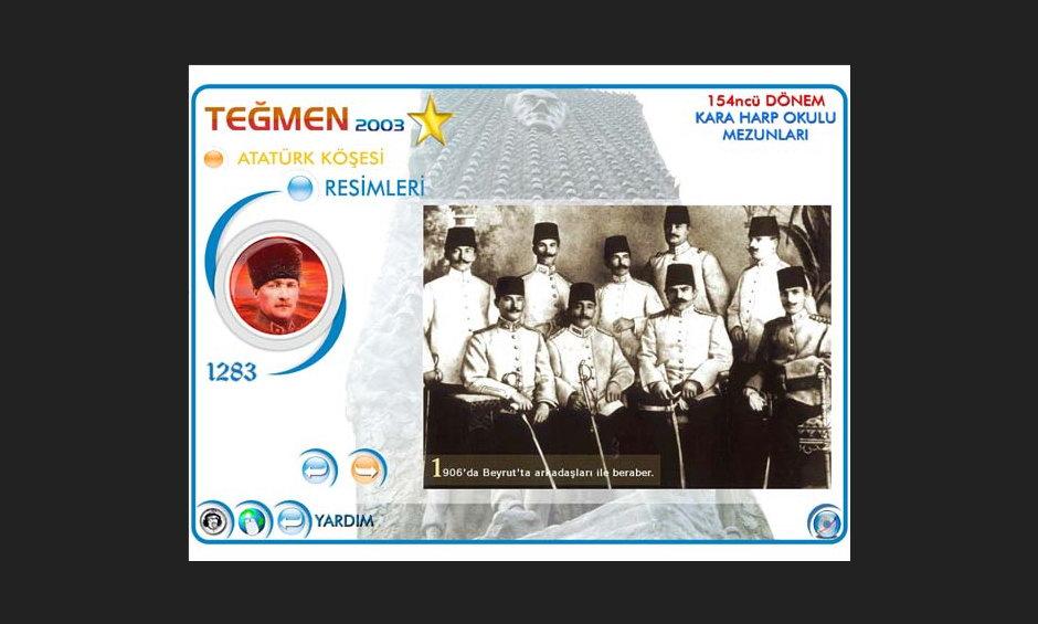 Teğmen 2003 Ürün ve Tanıtım CD Tasarımı 3