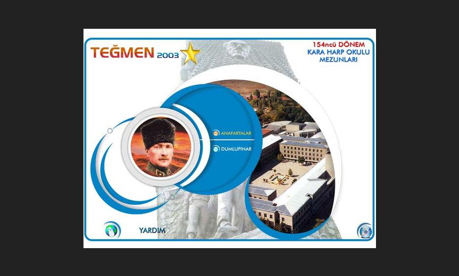 Teğmen 2003 Ürün ve Tanıtım CD Tasarımı 4