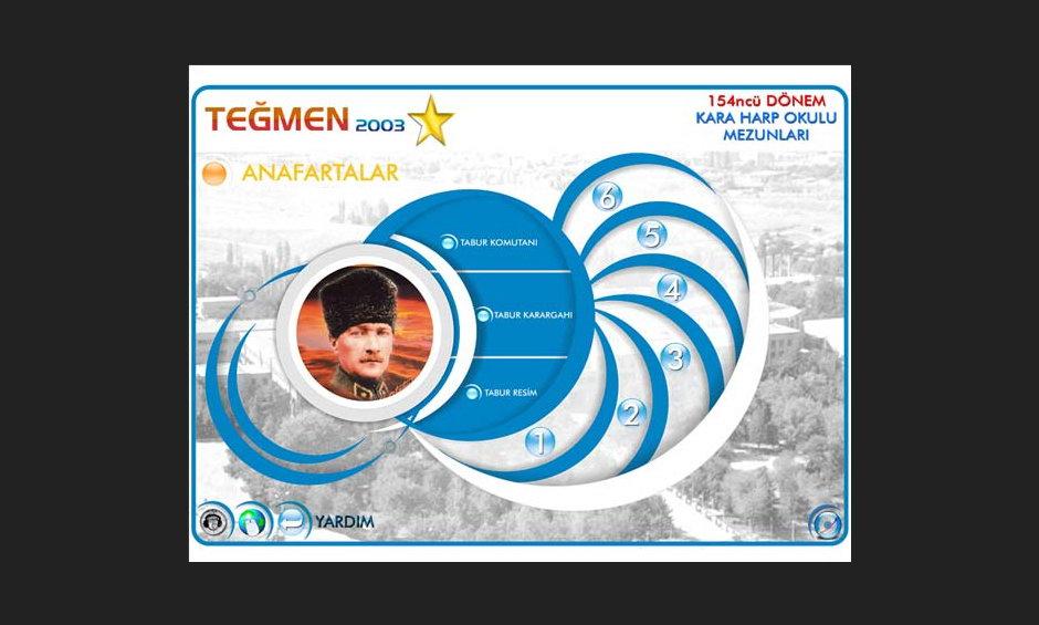Teğmen 2003 Ürün ve Tanıtım CD Tasarımı 5