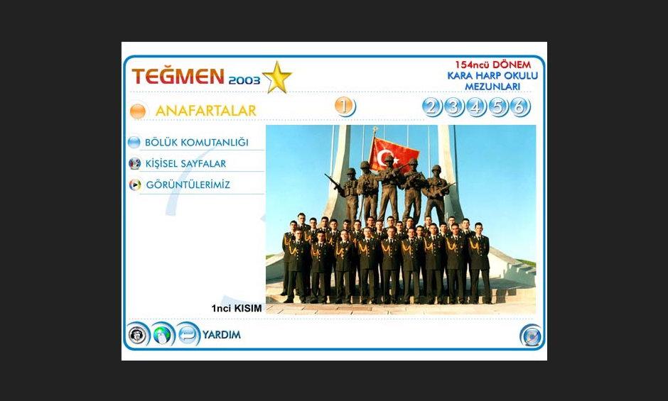 Teğmen 2003 Ürün ve Tanıtım CD Tasarımı 6