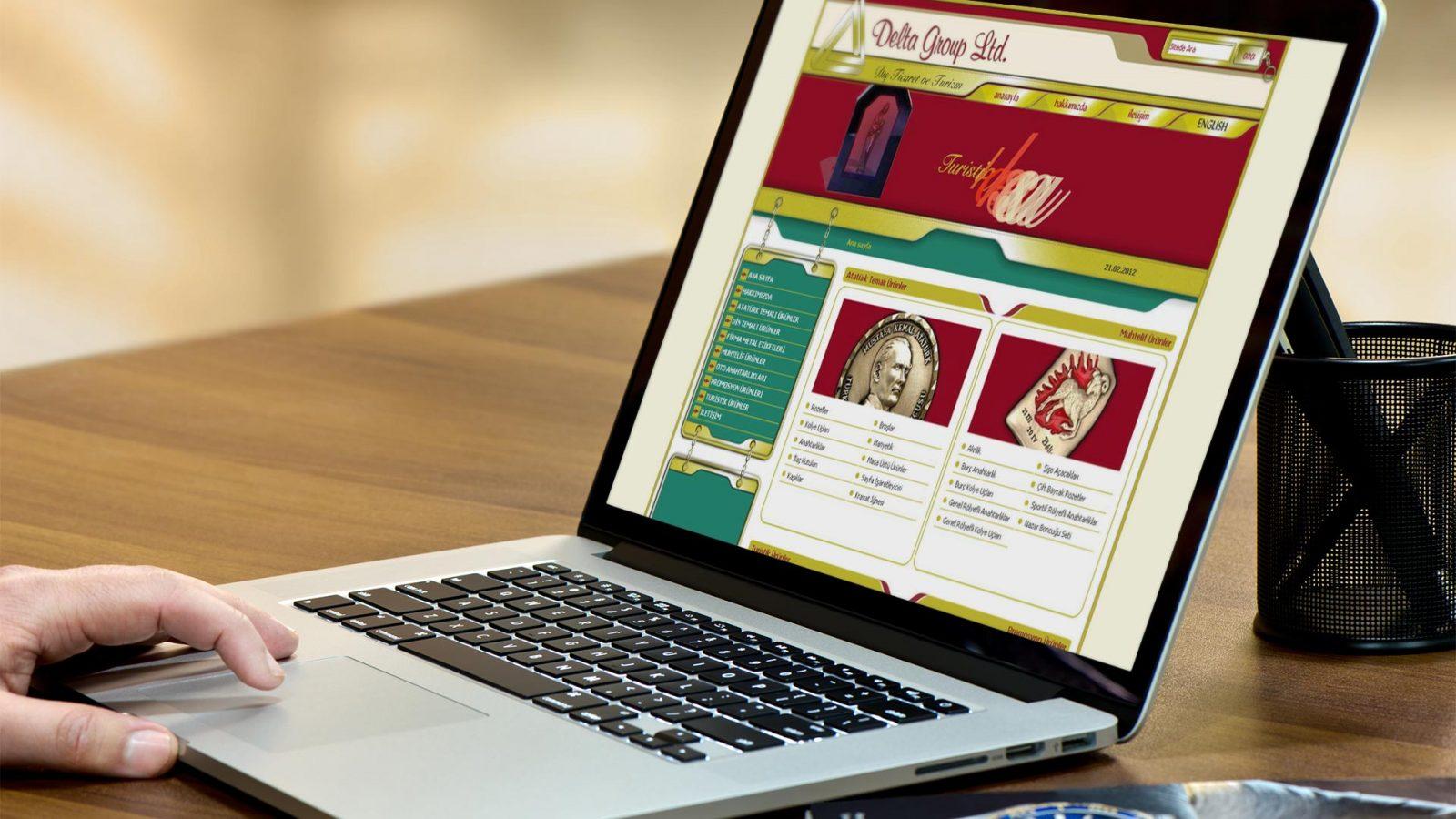 delta web sitesi tasarımı 01