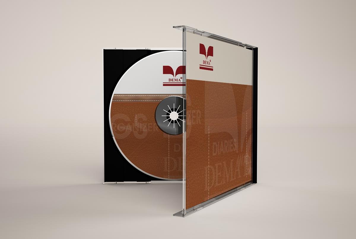 Dema deri sirket tanitim cd tasarımı