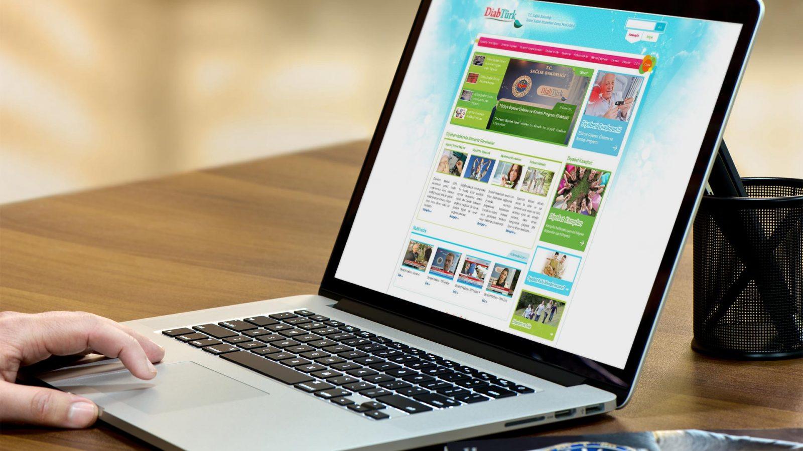 diabturk web sitesi tasarımı 01