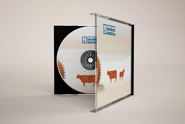 Doğuş Makina ve Ürün Tanıtım CD Tasarımı