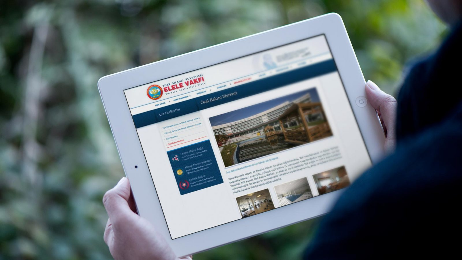elele vakfı web sitesi tasarımı 02