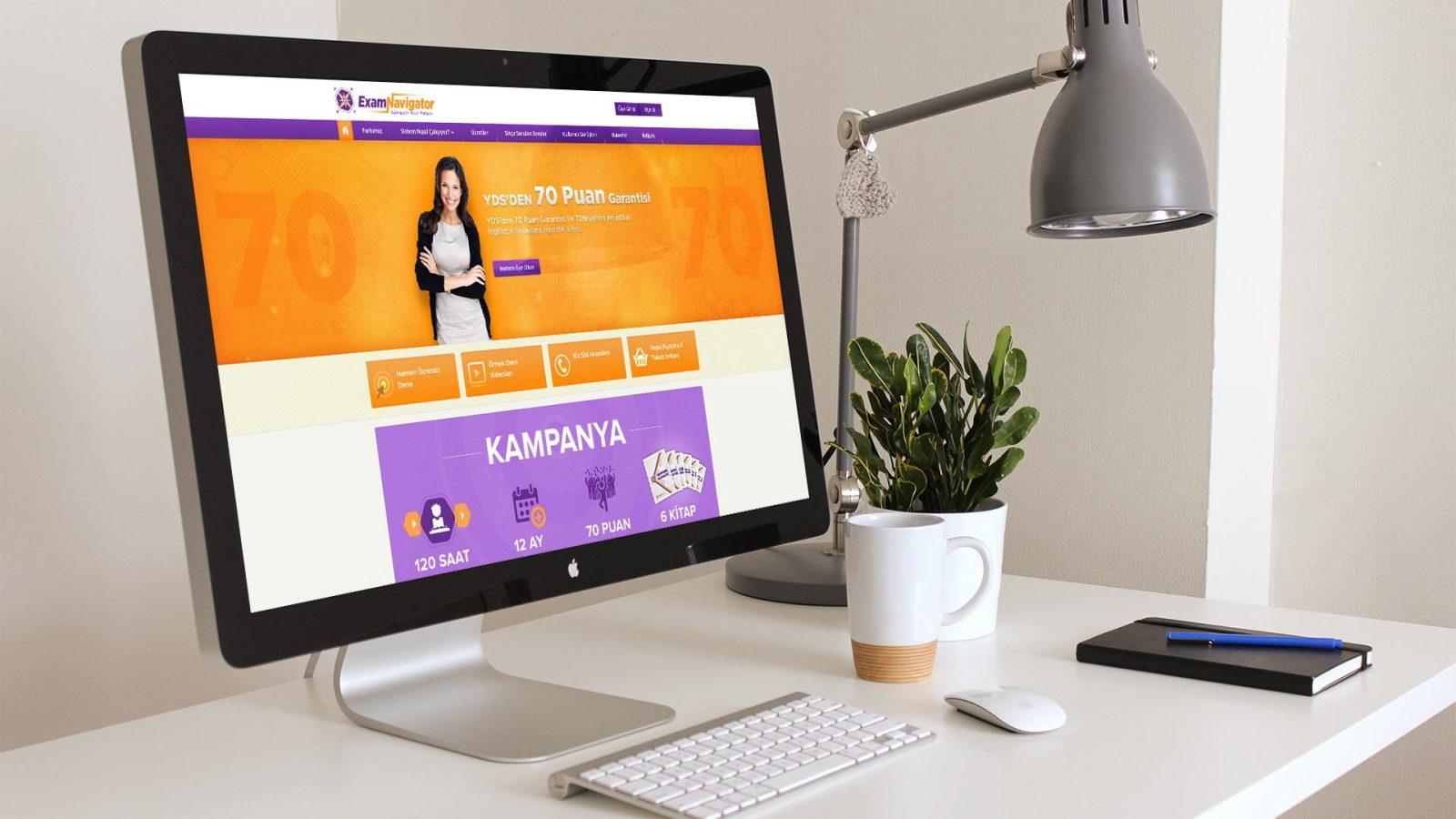 Exam Navigator Responsive Web Sitesi Tasarımı 04