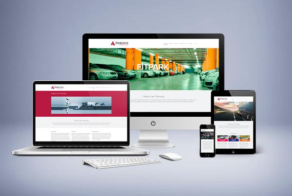 Fideltus A.Ş. Mobil Uyumlu Web Sitesi Tasarımı