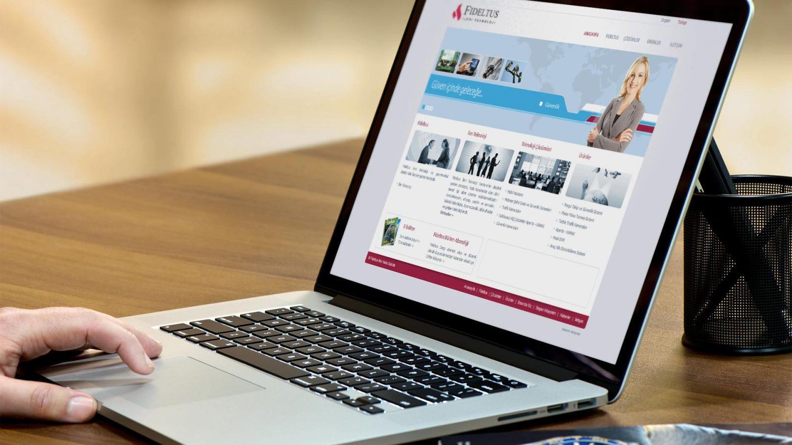 fideltus web sitesi tasarımı 01