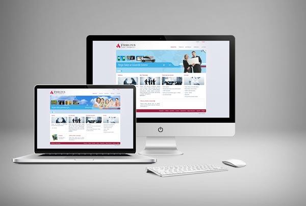 Fideltus A.Ş. Web Sitesi Tasarımı