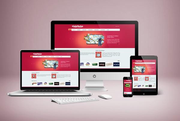 Gala Medya Responsive Web Tasarım