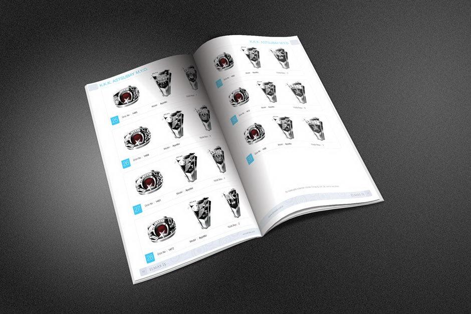 Elmas İş Broşür Tasarımı 5