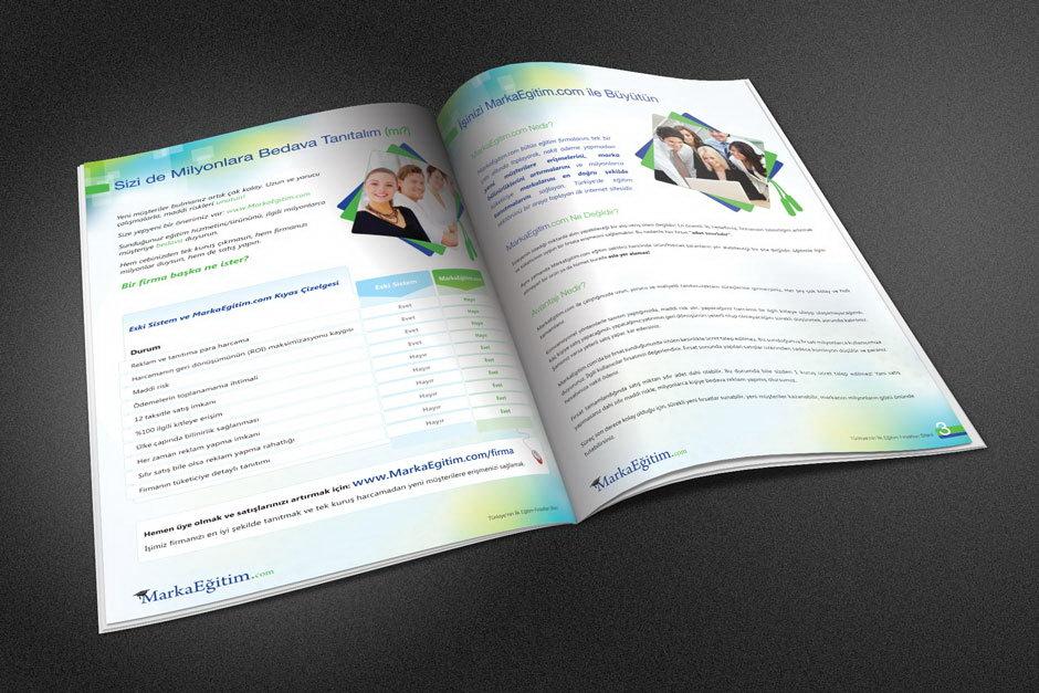 Marka Eğitim Katalog Tasarımı 2