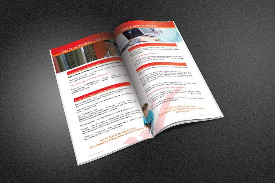 Wordtest Broşür Tasarımı 3