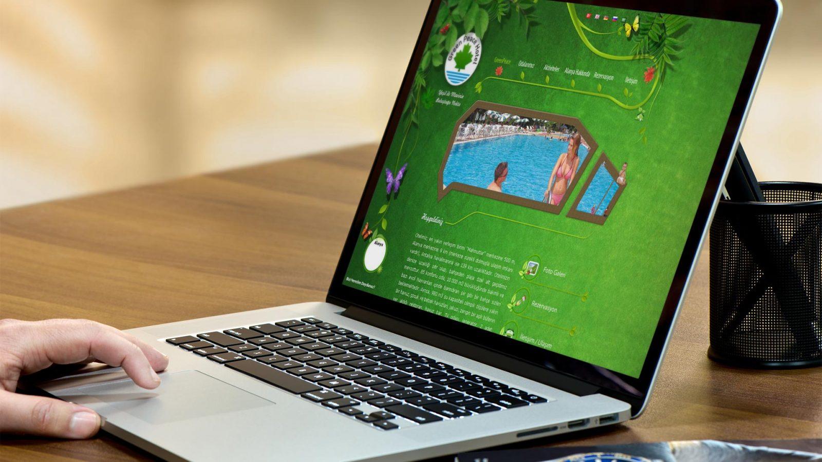 greenpeace web sitesi tasarımı 01