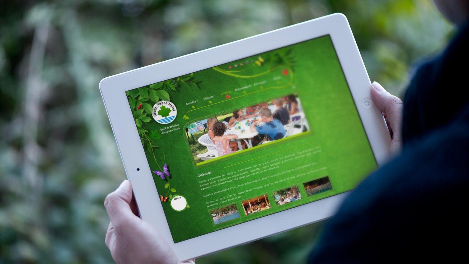 greenpeace web sitesi tasarımı 02