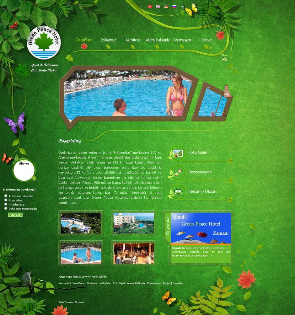 greenpeace web sitesi tasarımı 04