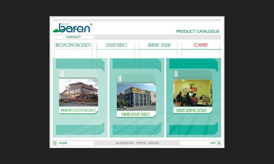 group baran şirket ürün tanıtım cd tasarimi 2004 01