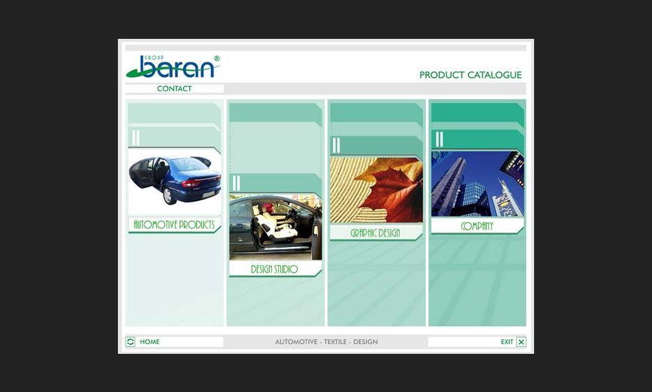group baran şirket ürün tanıtım cd tasarimi 2004 02