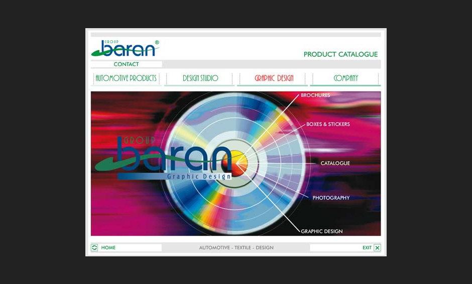 group baran şirket ürün tanıtım cd tasarimi 2004 04