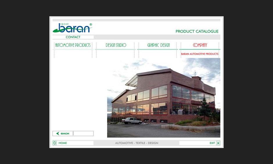 group baran şirket ürün tanıtım cd tasarimi 2004 05