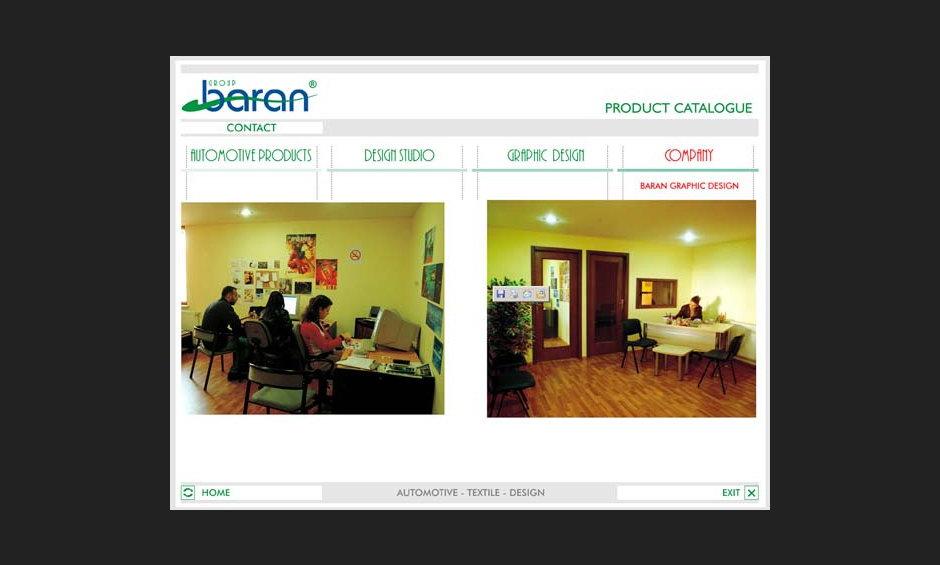 group baran şirket ürün tanıtım cd tasarimi 2004 06