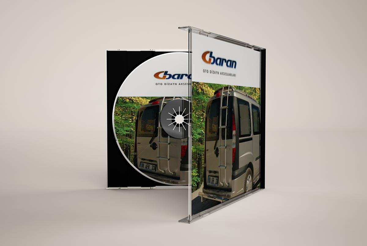 group baran şirket ürün tanıtım cd tasarimi 2004