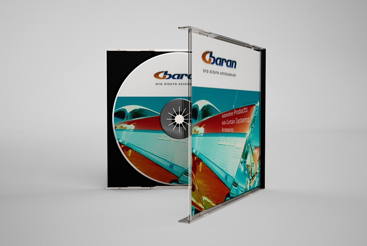 group baran şirket ürün tanıtım cd tasarimi