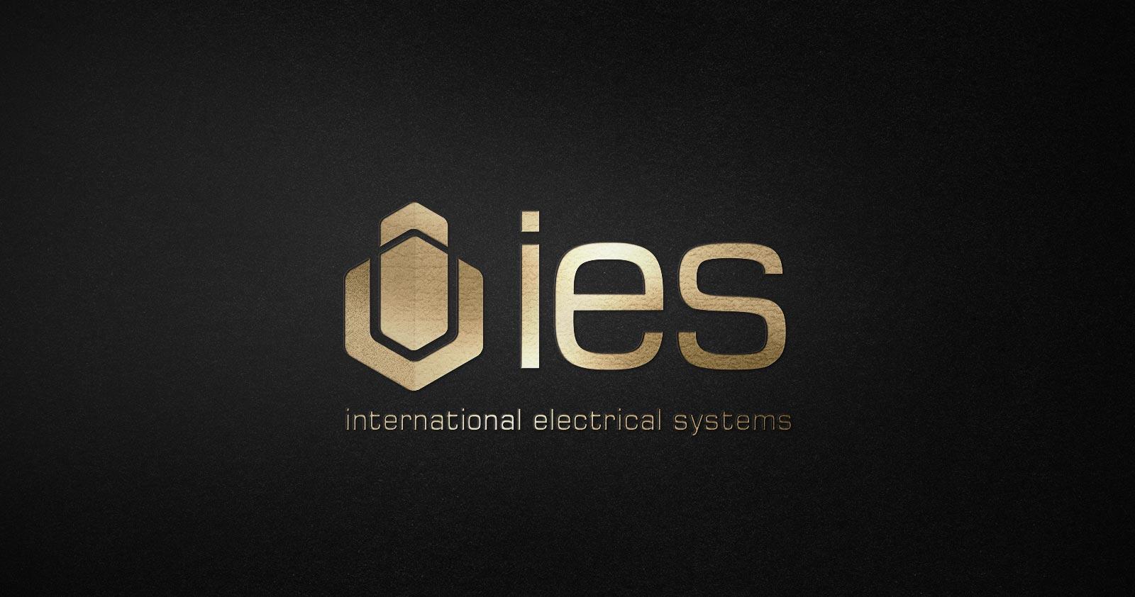 ies logo kurumsal kimlik tasarımı 01