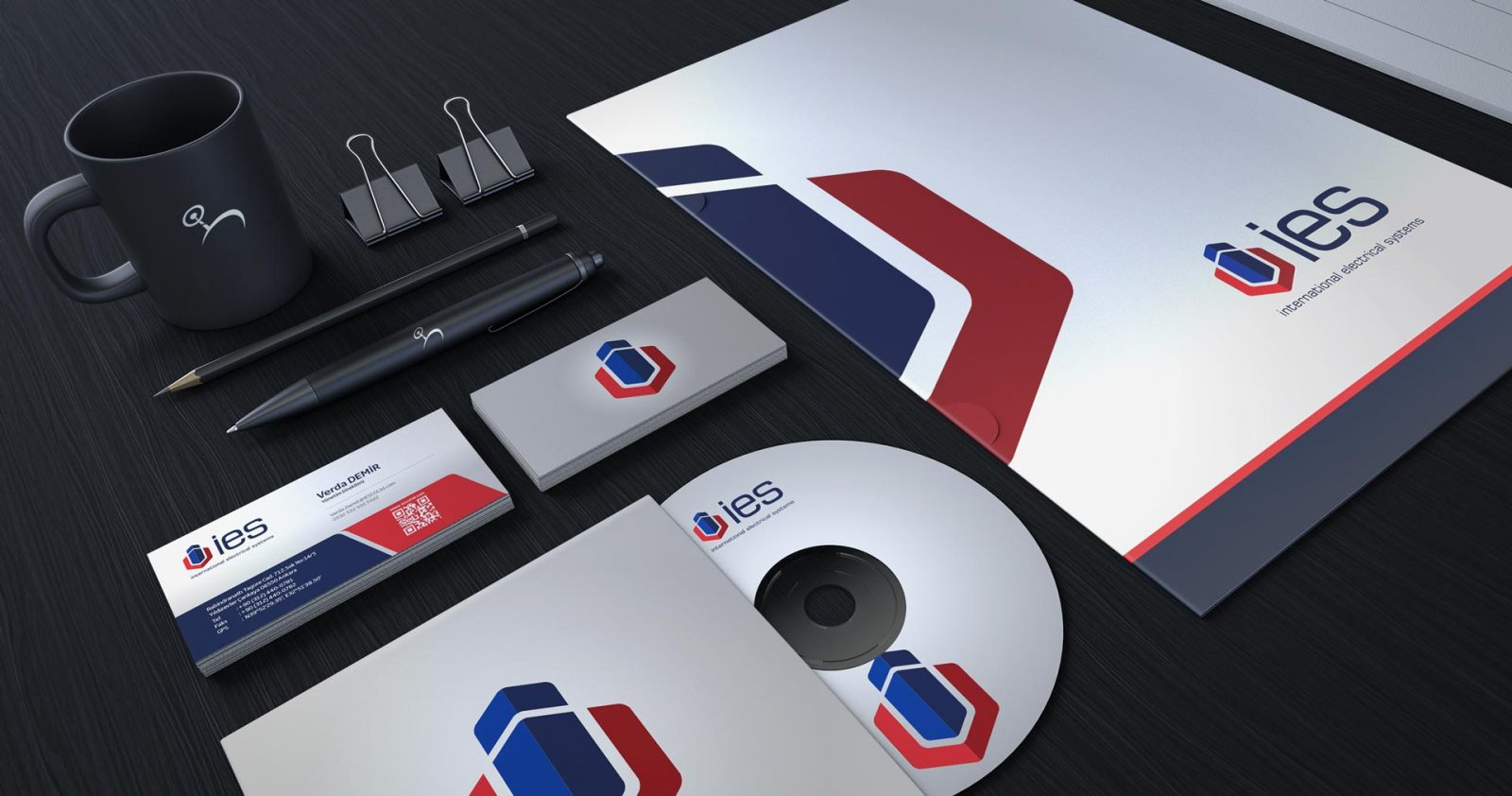 ies logo kurumsal kimlik tasarımı 04