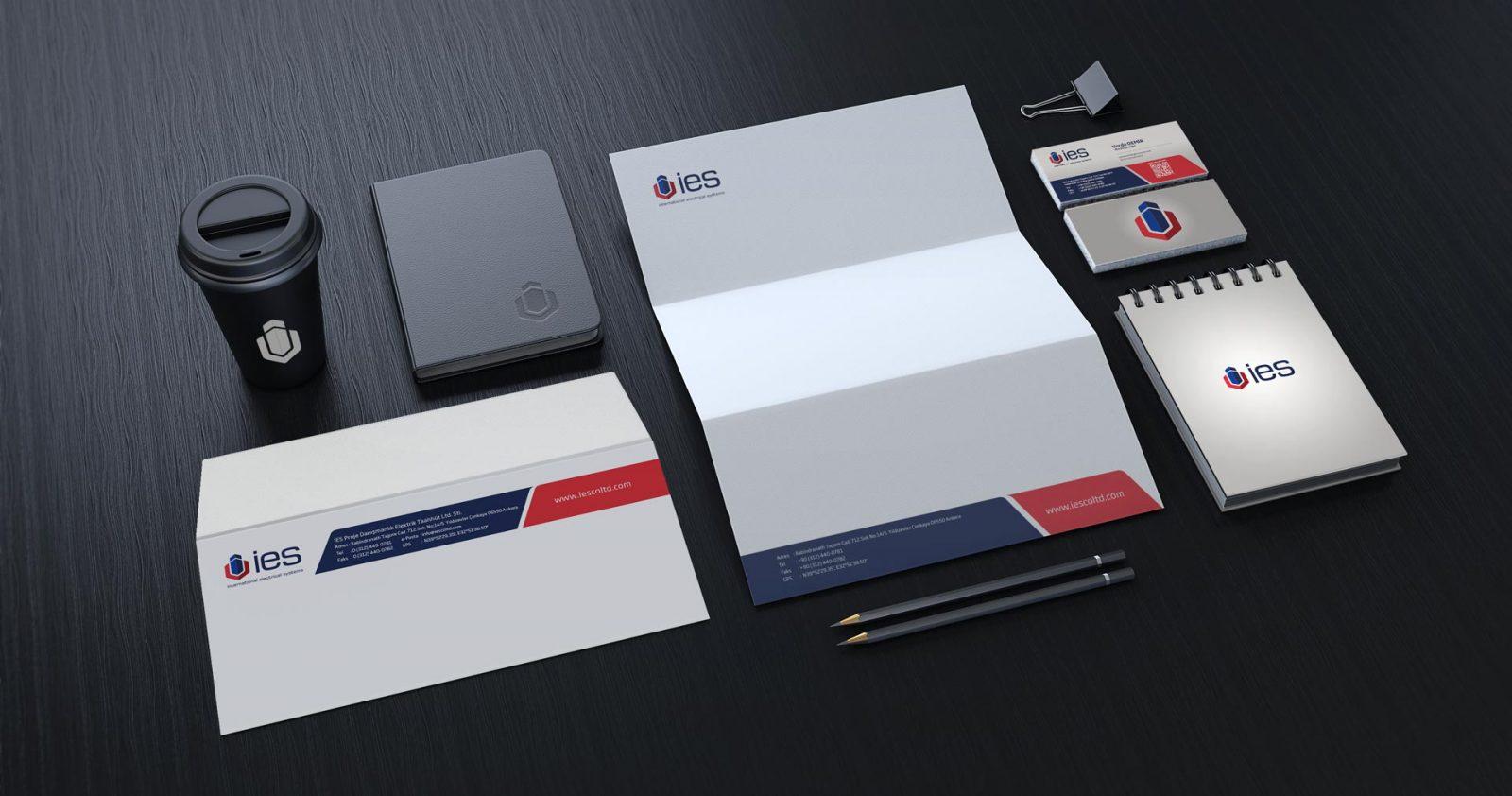 ies logo kurumsal kimlik tasarımı 05