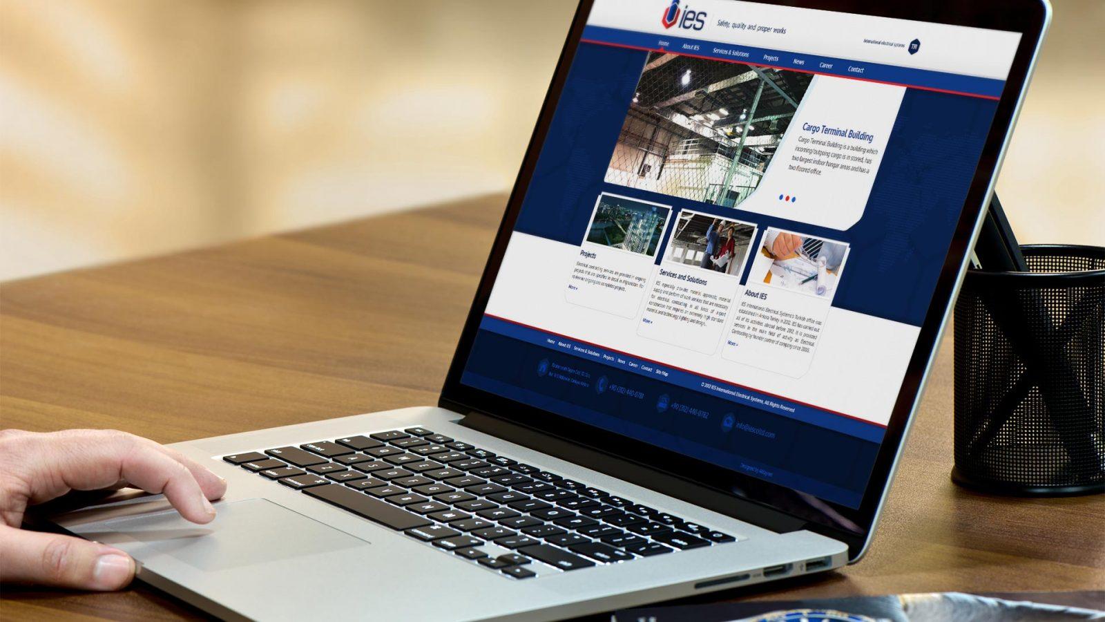 ies responsive web sitesi tasarımı 02